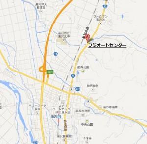 (有)フジオートセンターの湯沢店はここです。